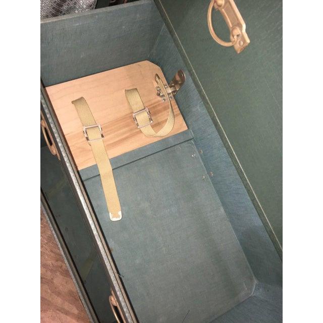 Antique Hartmann Wardrobe Steamer Luggage For Sale - Image 6 of 12