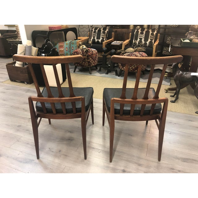 Harvey Probber Pair of Harvey Probber Chairs For Sale - Image 4 of 11