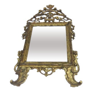 Early 19th Century Carved Gilt Italian Mirror For Sale