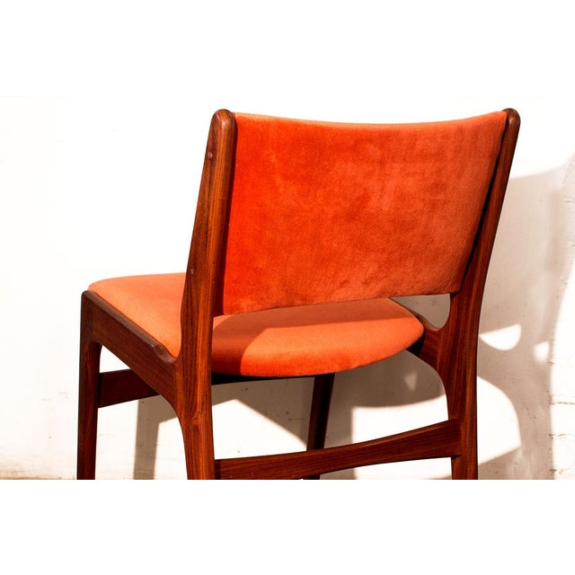 Danish Modern Teak Side Chairs - Set of 4 - Image 8 of 9