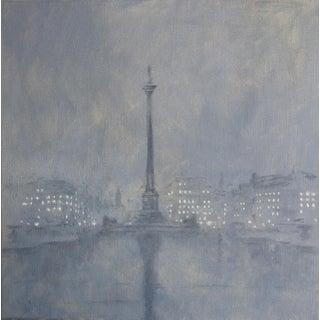 Alexander MacFaul 'Trafalgar Square in the Rain, London' For Sale
