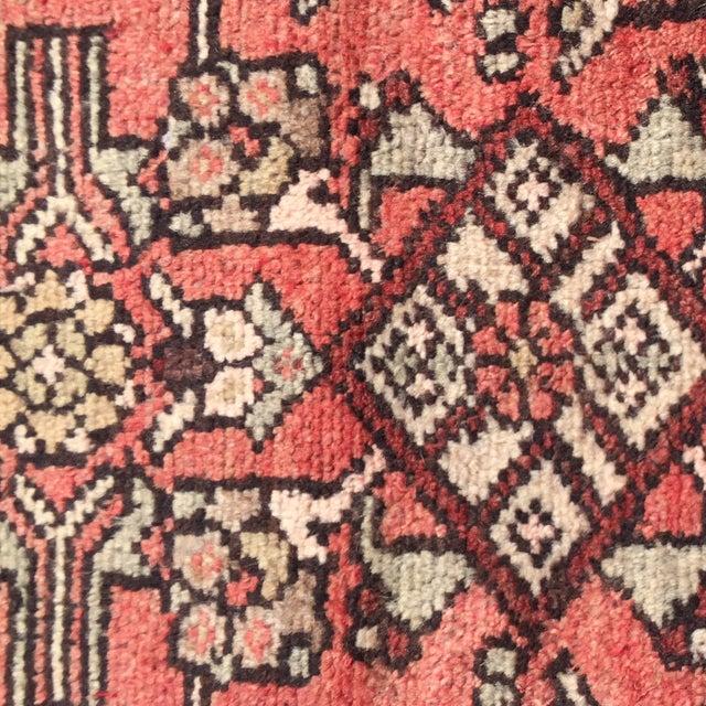 Vintage Hamadan Persian Rug -1′10″ × 2′4″ - Image 6 of 8
