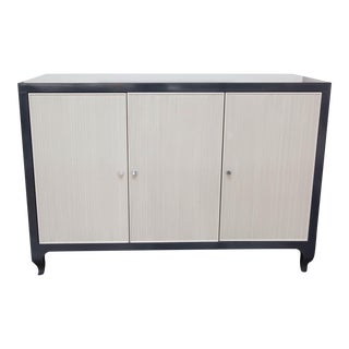 Lacquered Baker Media Cabinet