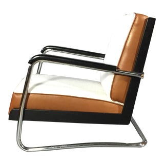 "Pauli Blomstedt ""Adelta"" Armchair, Finland Designed 1930s For Sale"