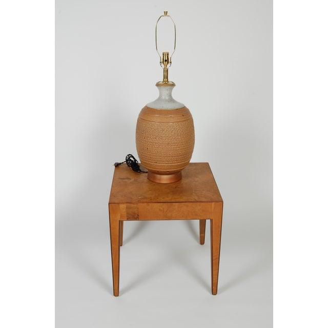 Studio Ceramic Lamp by Phil Barkdoll - Image 5 of 8