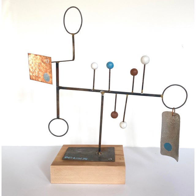 20th Century Abstract Constructivist Sculpture For Sale - Image 9 of 9