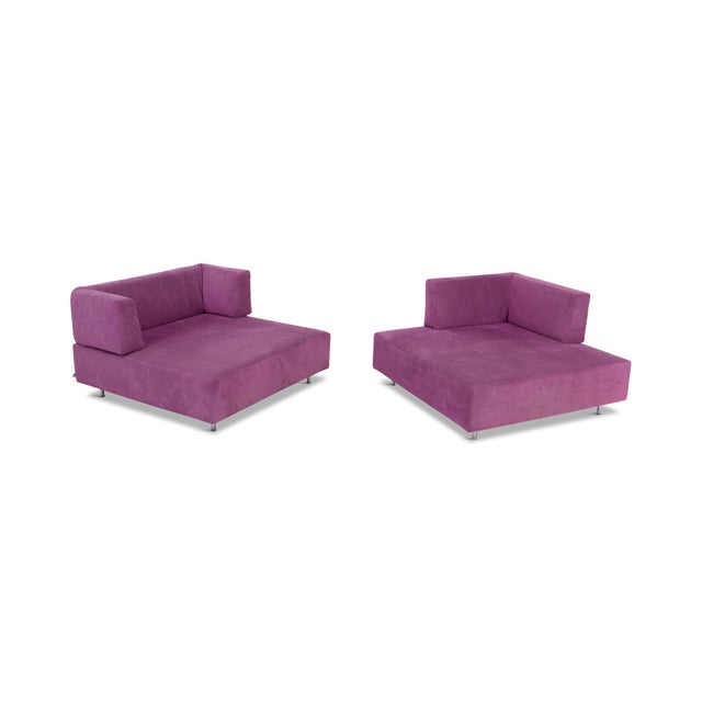 Edra l'Homme Et La Femme Modular Sofa by Francesco Binfaré For Sale - Image 6 of 11