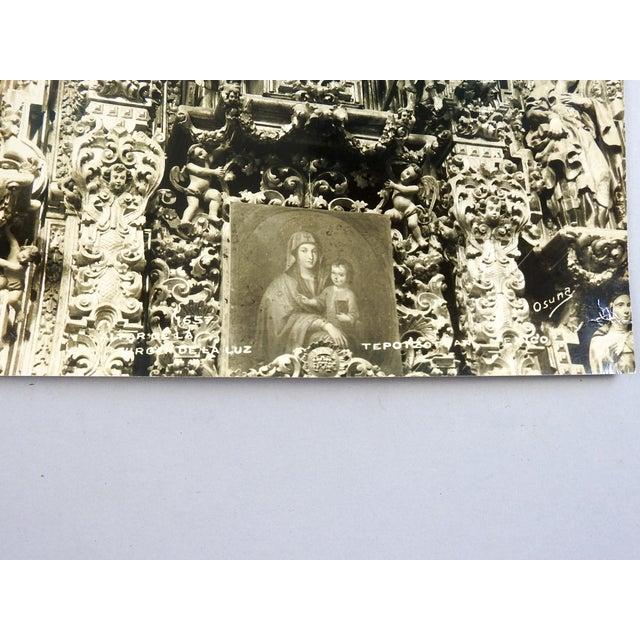 Carving Detail Retablo San Francisco Javier by Ozuna For Sale - Image 4 of 5