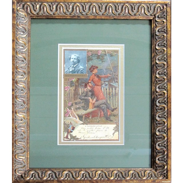 Date: Circa 1905 Size: 11.75 x 16 inches (each, including frame) Notes: Posters, chromolithographs, framed Artist: Unknown...