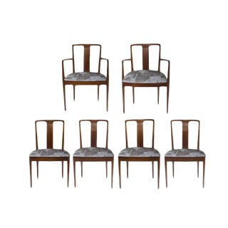 Tommi Parzinger Style Dining Room Chairs - Set of 6