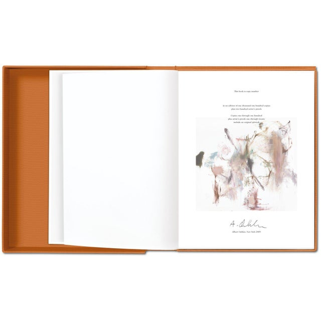 TASCHEN TASCHEN Books Albert Oehlen Monograph Painting Collection Autographed by Albert Oehlen For Sale - Image 4 of 8
