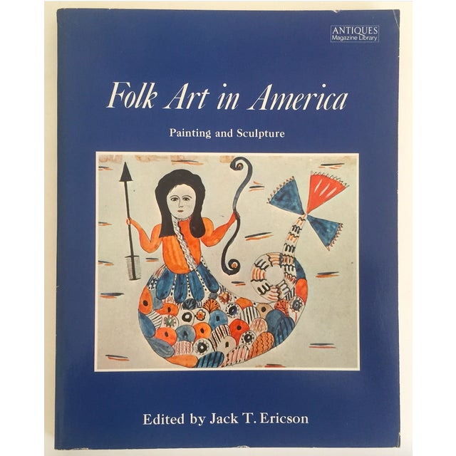 "Paper "" Folk Art in America "" Vintage 1979 1st Edition Decorative Fine Arts Design Book For Sale - Image 7 of 7"