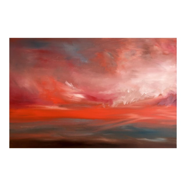 ReAwaken (#2 in Series) Original Abstract Landscape Oil Painting For Sale