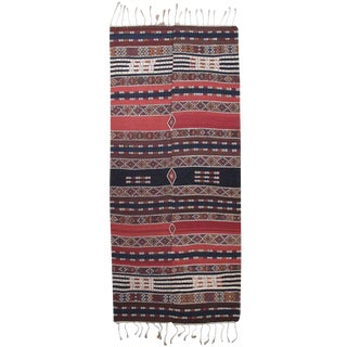 Antique Shavak Kilim For Sale