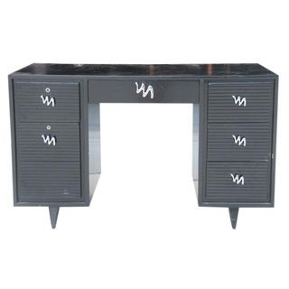 Midcentury Modern Brush Stroke Desk For Sale
