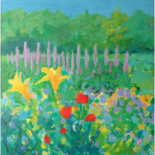 Garden Symphony by Anne Carrozza Remick For Sale