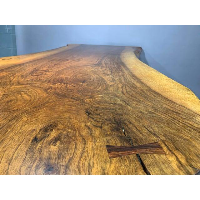 George Nakashima Large Conoid Writing Desk For Sale - Image 12 of 13