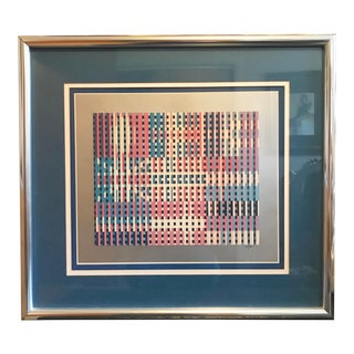 Flags of All Nations by Yaacov Agam For Sale