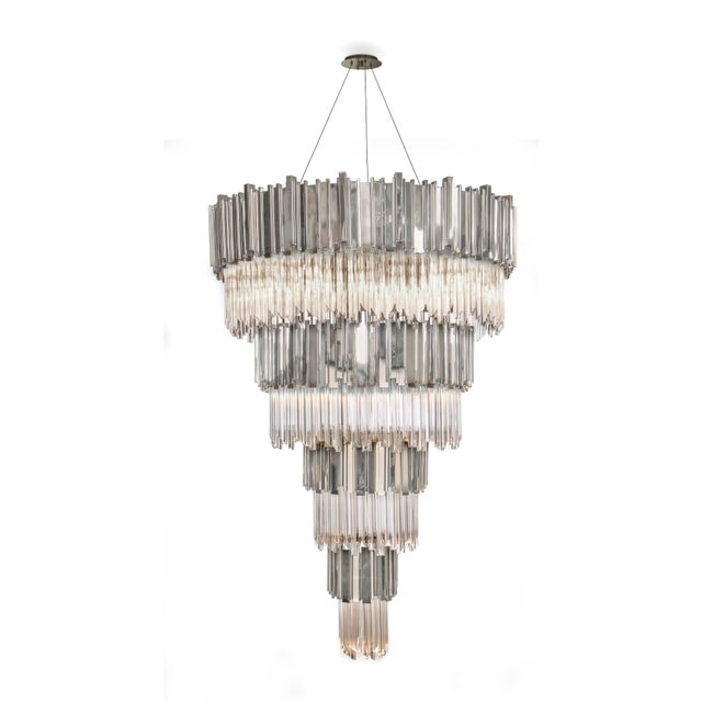 Contemporary Empire Chandelier For Sale - Image 3 of 6