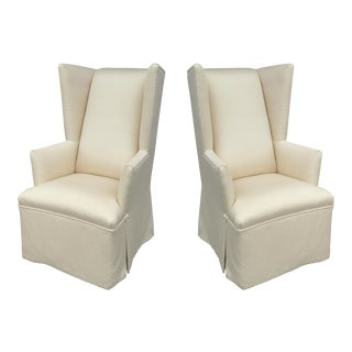 On Point Host Wingback Chairs From J. Robert Scott-A Pair For Sale