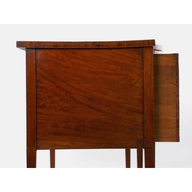 Brown Circa 1780 English George III Period Antique Mahogany Sideboard For Sale - Image 8 of 11