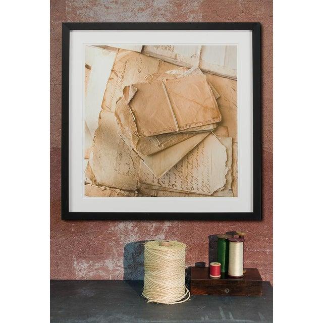 A Sarreid Ltd. framed artist edition print. Estimated Retail Price: $507.00. Matt paper, printed in France