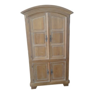 Rustic Shabby Chic Style Armoire/Media Center For Sale