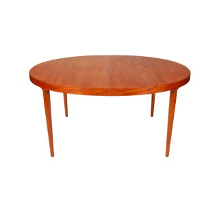 Moreddi Danish Modern Teak Expanding Dining Table For Sale