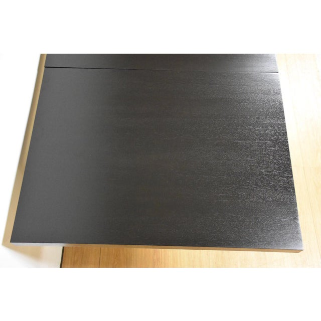 Black and Brass Dining Table by Paul McCobb - Image 5 of 10