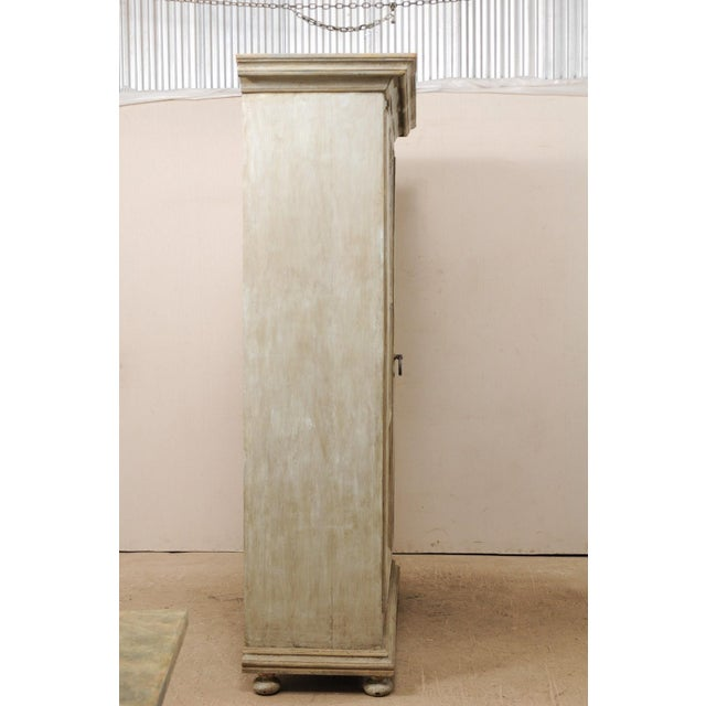Brazilian Painted Wood Storage Cabinet For Sale - Image 11 of 12