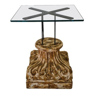 Architectural Element Table For Sale