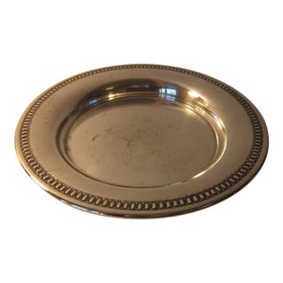 20th Century Traditional Silverplate Salver For Sale