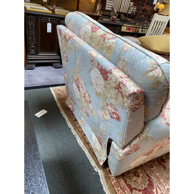 2010s La-Z Boy Shabby Chic Arm Chair Recliner For Sale - Image 5 of 12