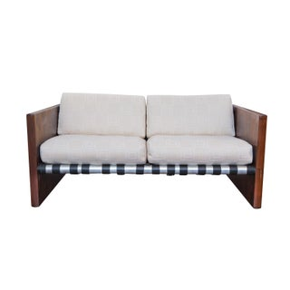 Mid-Century Danish Modern Rosewood Sling Sofa For Sale