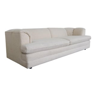 Vintage Contemporary Directional Sofa For Sale