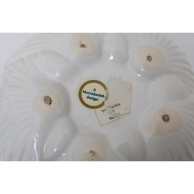 Traditional Mottahedeh Shell-Form Covered Serving Bowl For Sale - Image 3 of 8