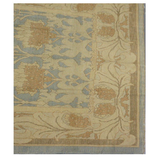 Traditional Oushak Wool Rug - 10 x 12 For Sale - Image 3 of 4