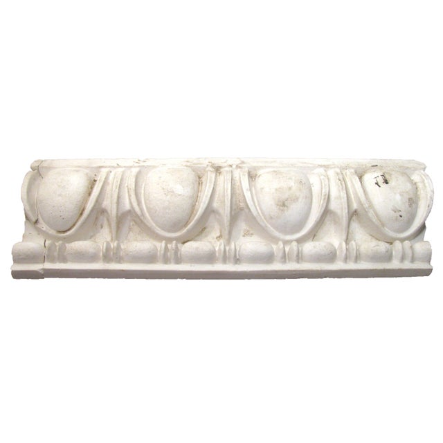 Art Deco Antique Plaster Architectural Element For Sale - Image 3 of 6
