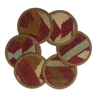 Kilim Coasters Set of 6 | İçcebeci For Sale