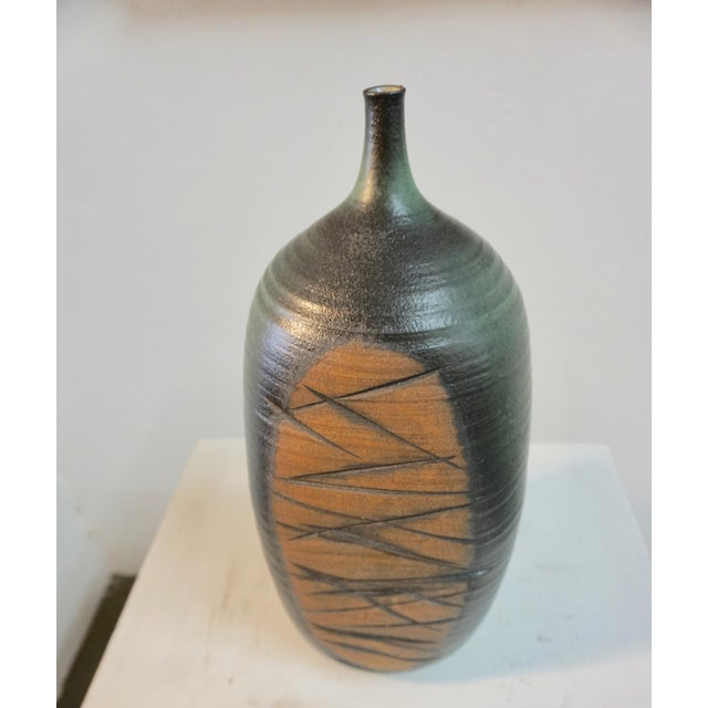 Abstract Tim Keenan Abstract Ceramic Vessels - a Pair For Sale - Image 3 of 11
