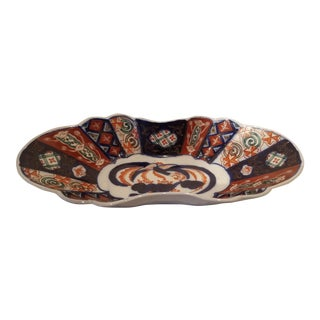 Late 19th Century Antique Imari Candy Dish Found in England For Sale