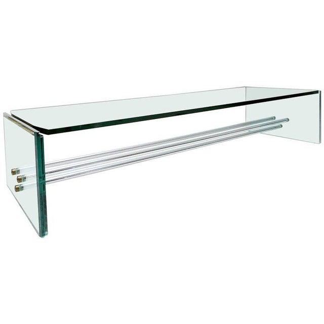 Metal Fontana Arte Coffee Table For Sale - Image 7 of 7