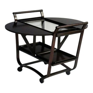 Edward Wormley for Dunbar Bar or Serving Cart For Sale