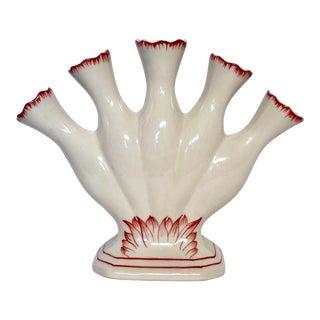 Vintage Faience' Tulipiere' Vase