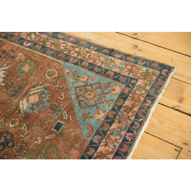 """Vintage Distressed Malayer Rug - 4' X 6'1"""" For Sale In New York - Image 6 of 13"""
