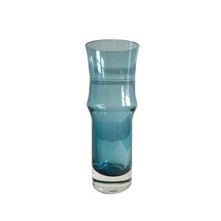 1960s Riihimäki Riihimäen Lasi Oy Finland Modernist Art Glass Vase For Sale