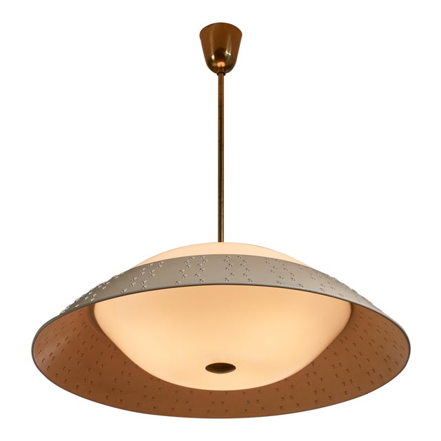 Large (72 CM / 28.35 Inch Diameter ) Lisa Johansson-Pape Pendant Lamp For Sale