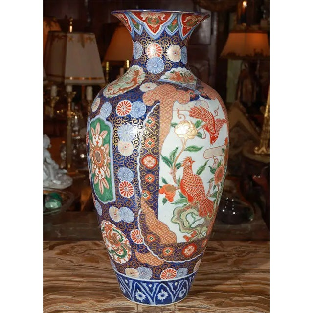 19th Century Japanese Imari Vase For Sale - Image 9 of 10