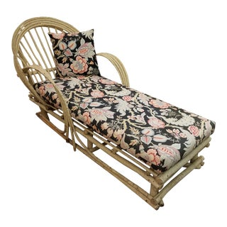 Modern Adirondack Twig Chaise For Sale