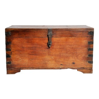Wooden Storage Box For Sale